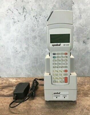 Symbol Pdt3100-s0463020 Handheld Barcode Scanner Wcradle Ac Cord Untested