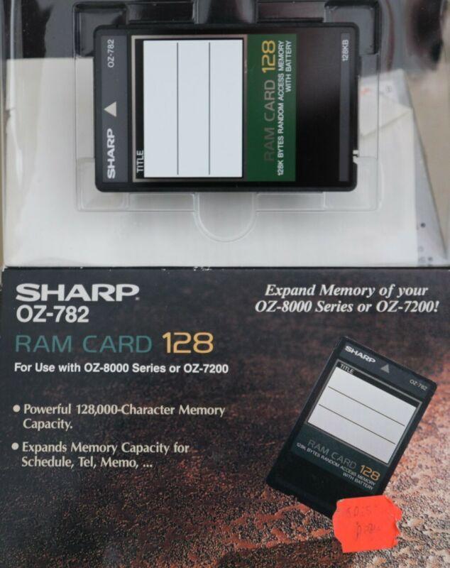 sharp oz 782 Ram Card 128 Excellent Extra Memory for you OZ 7000, 8200, 7200
