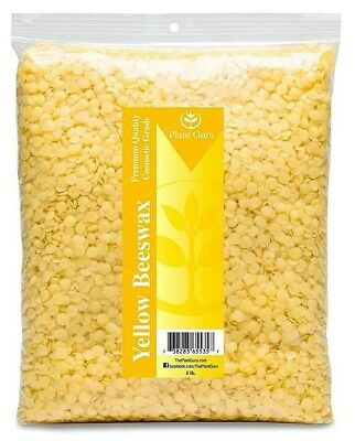 Beeswax 100% Pure Organic Granules Pearls Pastilles Pellets White Yellow Bulk