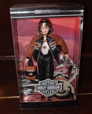Mattel Collector Edition Harley Davidson Barbie Doll # 4 Blonde