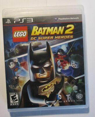 LEGOBatman2: DC Super Heroes, (PS3) Complete Mint Disd