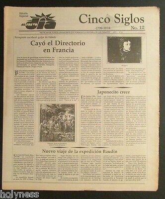 El Nuevo Dia    Vintage Newspaper   Cinco Siglos De Historia   12   Puerto Rico