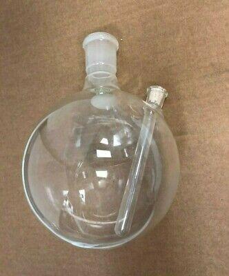 Pyrex Boiling Flask W 2 Necks 1000 Ml Chemistry Lab Glassware