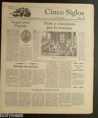 El Nuevo Dia    Vintage Newspaper   Cinco Siglos De Historia   5   Puerto Rico