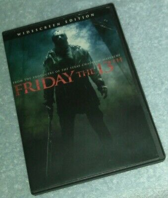 Friday the 13th Theatrical Cut DVD horror Halloween