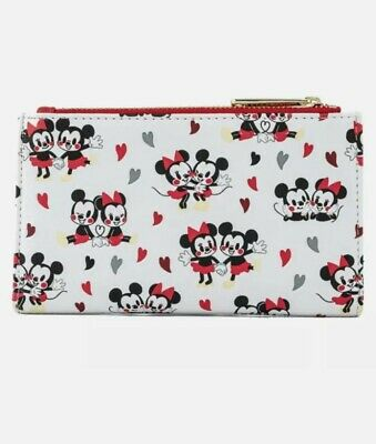Loungefly Mickey And Minnie Mouse Love Wallet