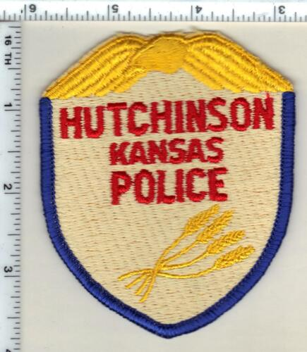 Hutchinson Police (Kansas) Shoulder Patch - new from 1997
