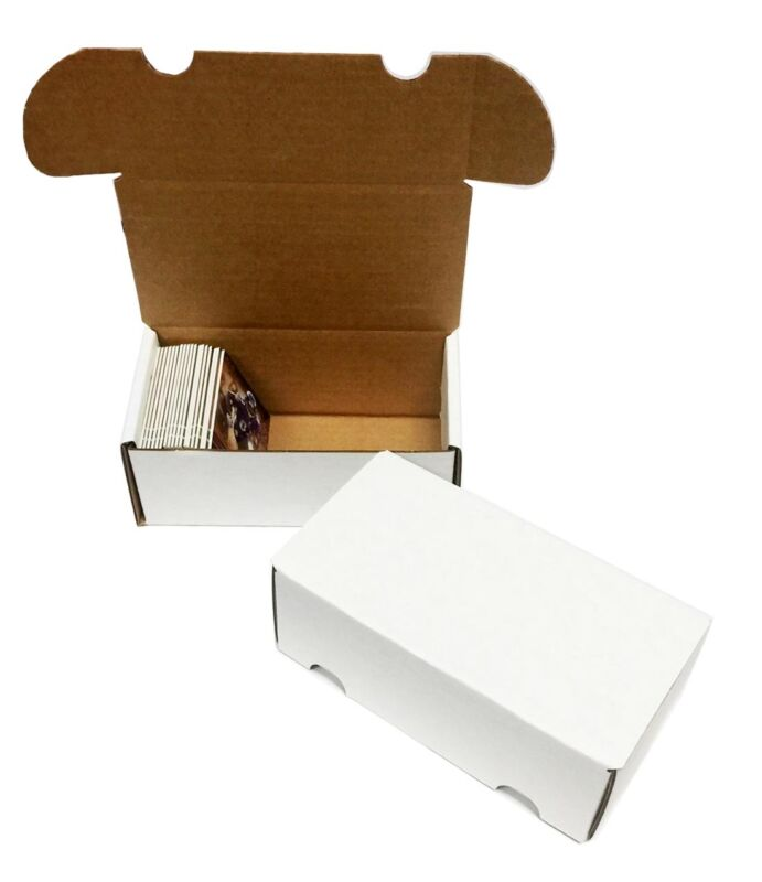 (200) 300 COUNT BASEBALL TRADING CARD MAX PRO CARDBOARD STORAGE BOXES