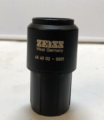 Carl Zeiss 46-40-02-9901 Microscope Fixed Eyepiece W10x25 30mm Tubes