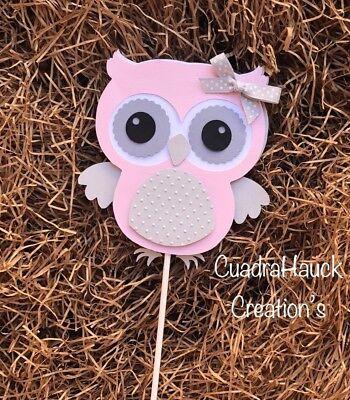 Owl/Owl decorations/Owl baby shower/ Owl birthday/ nursery/Owl woodland