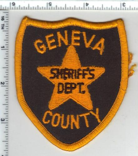 Geneva County Sheriff (Alabama) 2nd Issue Shoulder Patch