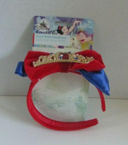 Disney Parks Snow White Princess Headband Halloween Dress Up NWT