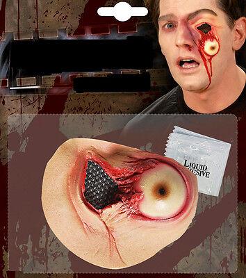 Fallendes Auge  Wunde künstliche Verletzung Halloween Horror Theater Make up