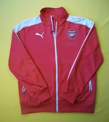 Arsenal Training Jacket (4/5 Arsenal training jacket size small soccer football Puma ig93 )
