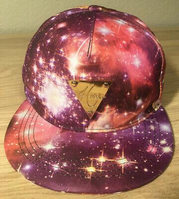 Hater ~ Hip Hop STARS/SPACE Snapback Hat Cap ~ Gold Color Triangle Metal Logo!