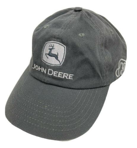 John Deere G Series Muscle Meets Hustle Adjustable Baseball Gray Hat Cap