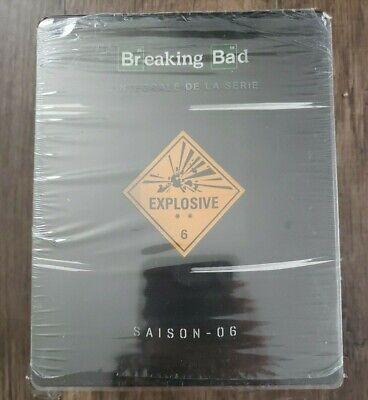 BREAKING BAD Complete Series Blu-ray Steelbook RegionFree Season 1 2 3 4 5 6 (Breaking Bad Blu Ray Box Set 1 5)