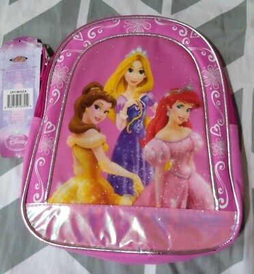 "NWT Disney Princesses 10"" Small Backpack for little girls Be"