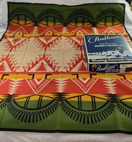 "NWT Boxed Vintage Pendleton Buell Tribute 64"" x 72"" Wool Blanket"