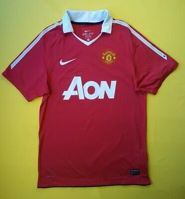 5128fe5e5 5/5 Manchester United jersey small 2010 2011 home shirt 382469-623 Nike ig93
