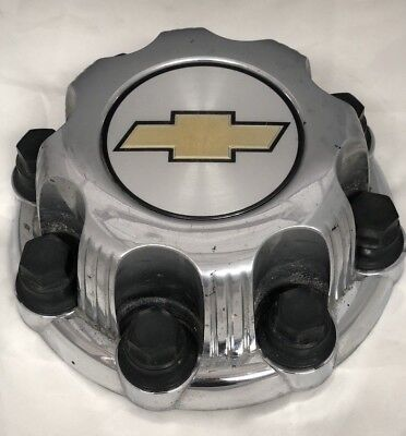 "Chevy Silverado Suburban 2500 Avalanche 16"" Aluminum Wheel CHROME Center Hub Cap"