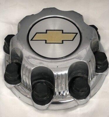 "Chevy Silverado Suburban 2500 Avalanche 16"" Aluminum Wheel CHROME Center Hub Cap"