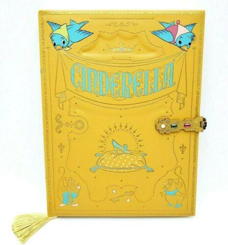Disney Parks Cinderella Story Book Replica Journal Notebook New
