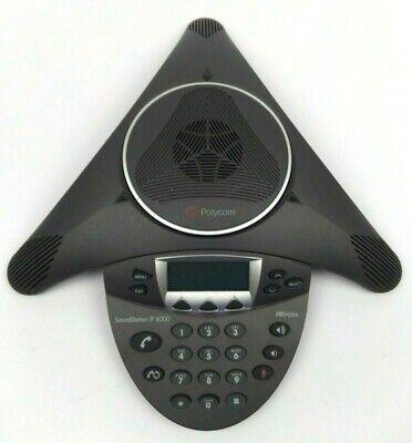 Polycom Soundstation Ip 6000 Hd Poe Conference Phone 2201-15600-001