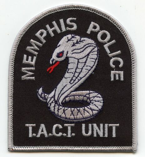 MEMPHIS TENNESSEE TN TACT UNIT POLICE PATCH