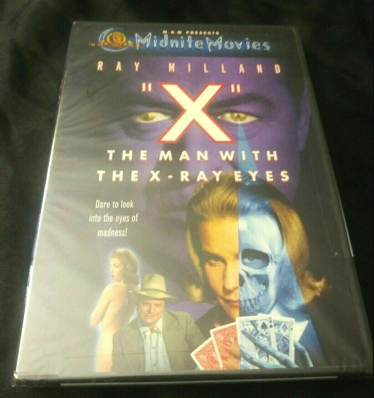 X The Man With X-Ray Eyes DVD New Midnight Movies Scifi Horror Sealed Cult Rare - $13.00