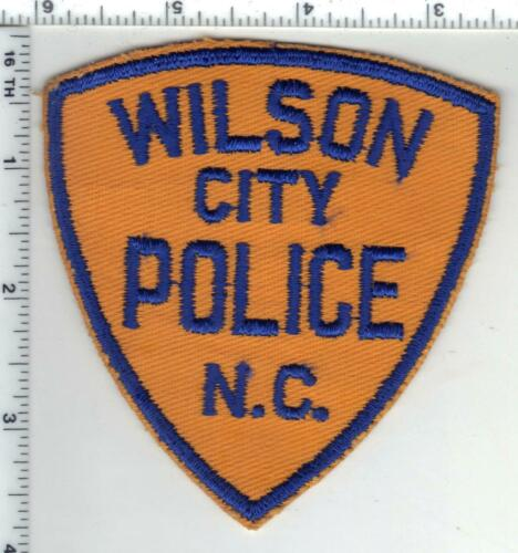 Wilson City Police (North Carolina) 1st Issue Uniform Take-Off Shoulder Patch