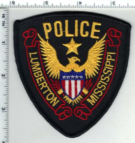 Lumberton Police (Mississippi) Shoulder Patch  from the 1980