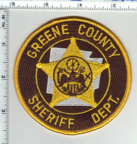 Greene County Sheriff (Arkansas) 2nd Issue Shoulder Patch