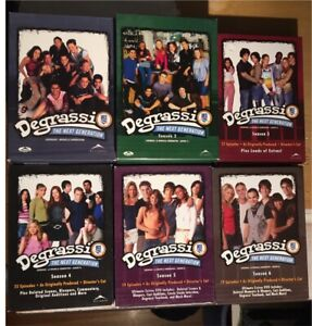 Degrassi: The Next Generation Seasons 1-6 DVDs