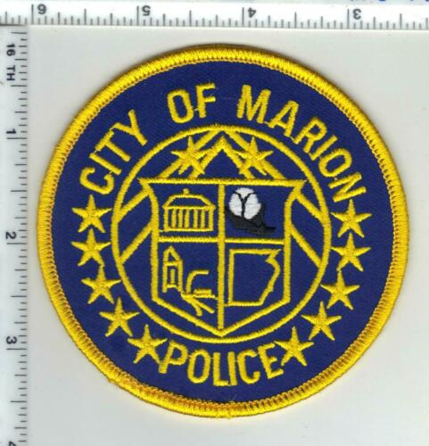 City of Marion Police (Arkansas) 2nd Issue Shoulder Patch