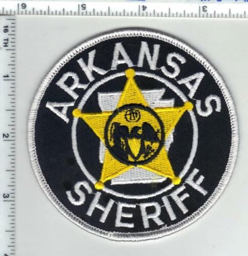 Statewide Sheriff (Arkansas) 1st Issue Shoulder Patch