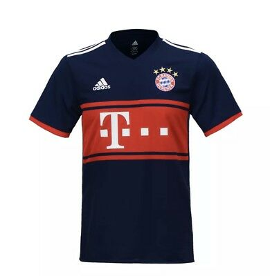 35a6d71e1 Adidas 17-18 FC Bayern Munich Away Jersey AZ7937 Soccer Football Shirts  Uniform