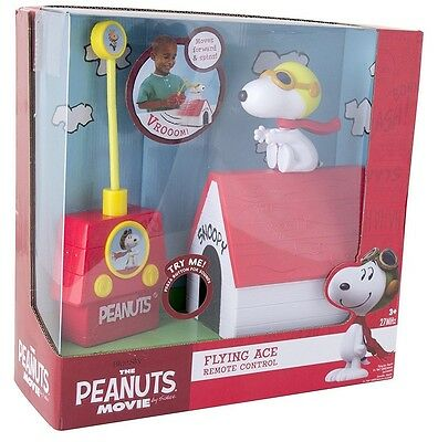 Peanuts SNOOPY'S R/C Flying Ace - Radio Controlled with Fun Sounds Effects