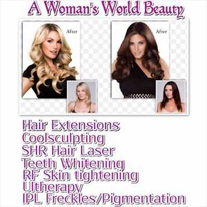 Wholesale hair extensions $75 /IPL/coolsculpting/hair removal Canning Vale Canning Area Preview