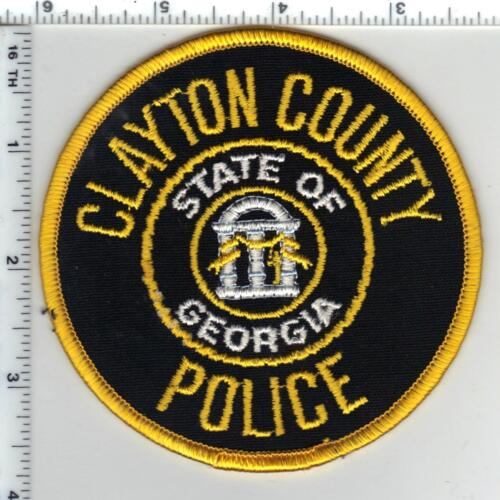 Clayton County Police (Georgia) 2nd Issue Shoulder Patch