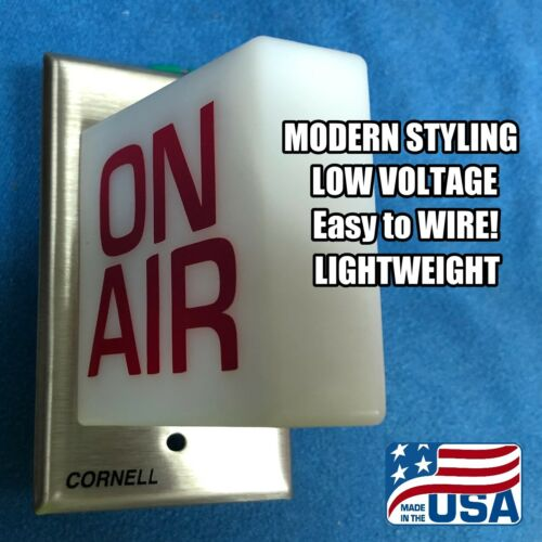 12 volt radio station ON AIR studio warning light lighted sign BUY IT NOW!