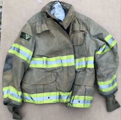Janesville Isodri Turnout Bunker Coat Fire Fighting Firefighter Gear 44 X 29