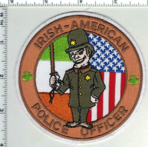 Irish-American Police Officer Shoulder Patch