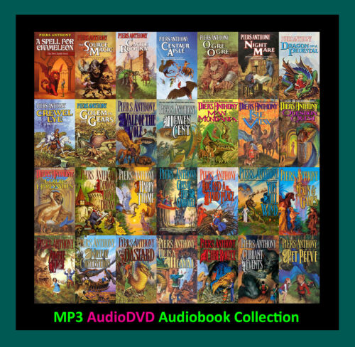The MAGIC OF XANTH Series By Piers Anthony  (32 MP3 Audiobook Collection)