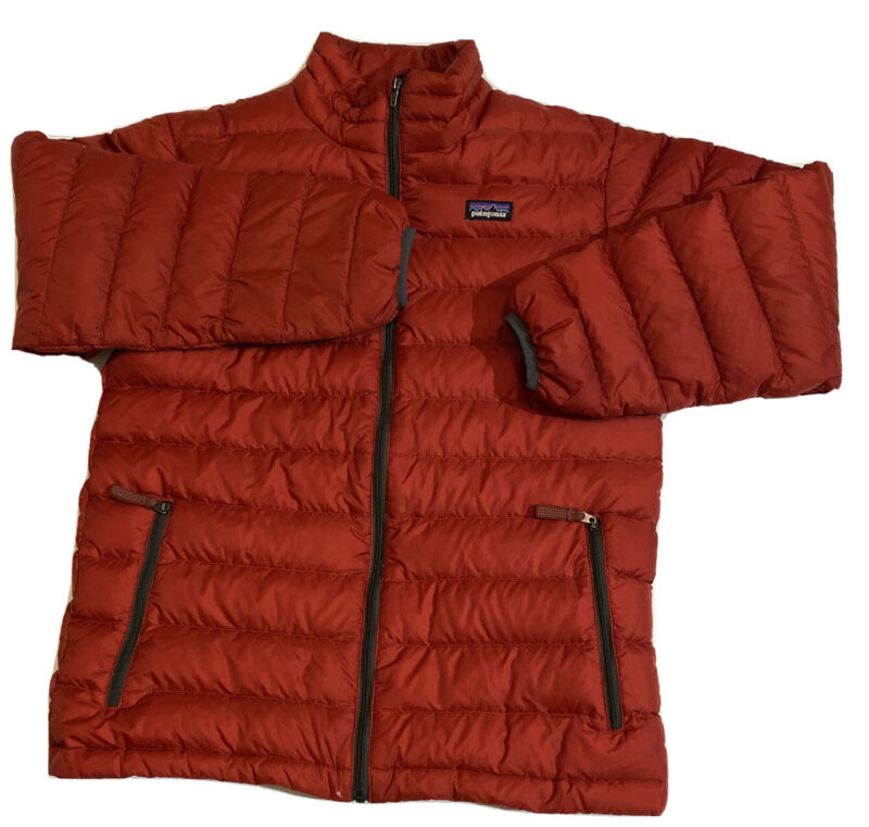 Patagonia Down Jacket Size Large  Boys