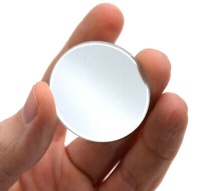 Round Concave Glass Mirror - 1.5 38mm Diameter - 100mm Focal Length - 2mm