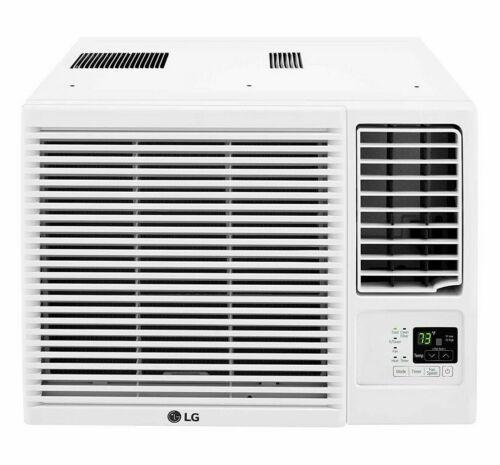 LG 7500 BTU Window Air Conditioner with Supplemental Heat