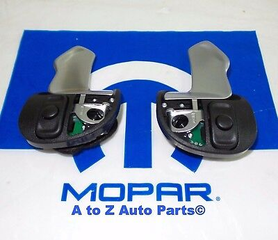 NEW 2015-2019 Dodge Challenger,Charger HellCat St Wheel Paddle Shifters (2),OEM