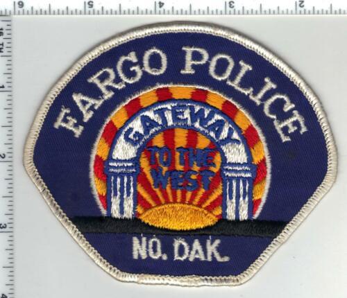 Fargo Police (North Dakota) 2nd Issue Shoulder Patch
