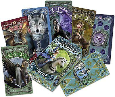 TAROT LEGENDS - ANNE STOKES 78 cartas HERACLIO FOURNIER